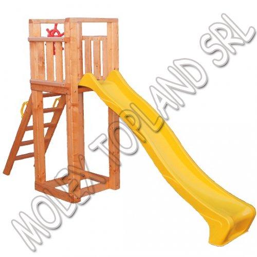 Turn lemn si topogan 2.5m