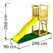 Turn lemn si topogan 2.7m
